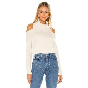 Lovers + Friends Anisa Turtleneck Sweater in Cream